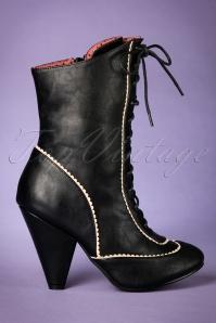 40s Renata Boots in Black