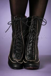 Bettie Page Shoes Renata Boots 440 10 21499  model 18102017 005W