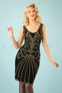 GatsbyLady Francesca Dress in Gold 100 14 22647 20170925 1W