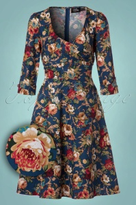 Dolly and Dotty TopVintage Exclusive Floral Dress 102 39 22964 20171023 0001W1