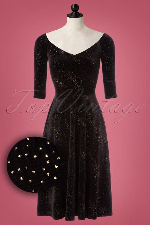 e21b7bfb8fde Vintage Chic Pin Dot Glitter Velvet Dress 102 10 23380 20171023 0001popV