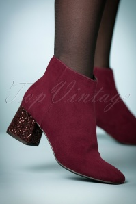 La Strada Red Booties 441 20 23899 model 18102017 002W