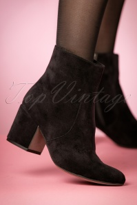 Tamaris Black Velvet Booties 441 10 23808 model 18102017 001W