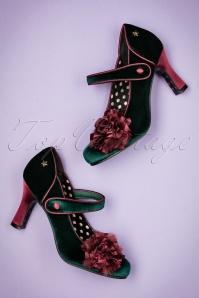 Joe Browns Couture Green Parade Shoe 402 40 23446 16102017 010W