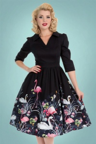 Hearts and Roses  Black Swan Swing Dress 102 14 22733 20171026 01