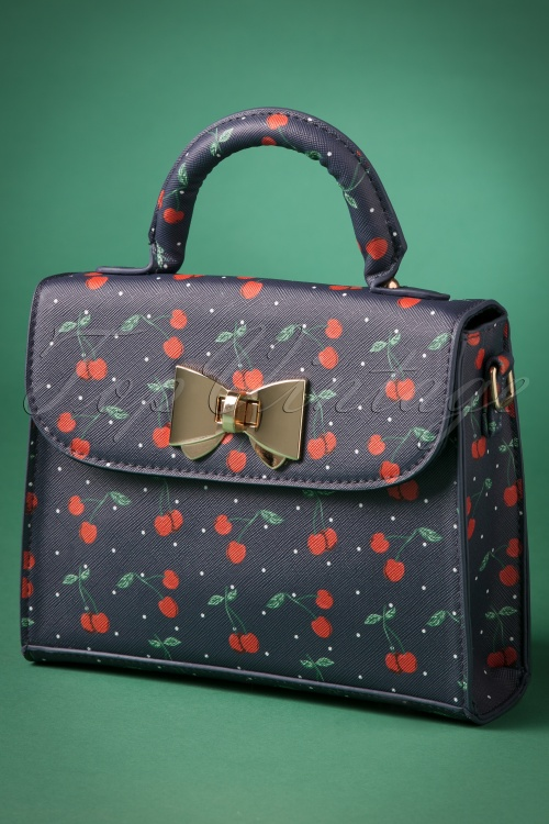 Lindy Bop Bessa Cherry Polka Bag 212 39 23343 20171024 0020w