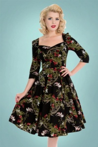 Hearts and Roses  Black Swan Swing Dress 102 14 22733 20171026 0040
