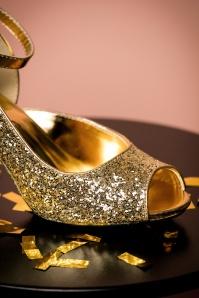 Fabulicious Gold Glitter Pump 403 91 23814 26102017 020