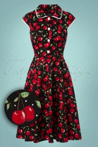 Hearts and Roses  Black Swan Swing Dress 102 14 22733 20171026 0019W1