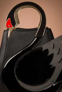 Victoria's Gem Swan Bag in Black 212 10 23898 20171026 0024