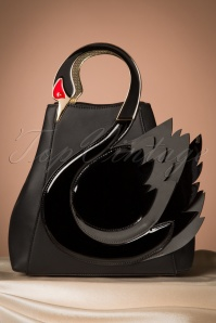Victoria's Gem Swan Bag in Black 212 10 23898 20171026 0004w