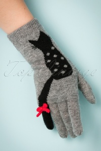 Alice Hannah Cat Jaquard Flossy Glove 250 15 22681 31102017 004W