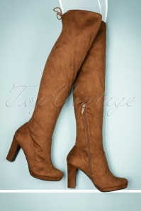 Tamaris High Boots in Terra 440 70 21538 30102017 029bW