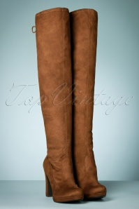 Tamaris High Boots in Terra 440 70 21538 30102017 020W