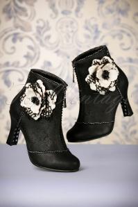 Joe Brown Couture Cristobel Booties Black 441 10 23445 30102017 011W