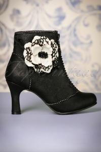 Joe Brown Couture Cristobel Booties Black 441 10 23445 30102017 004W