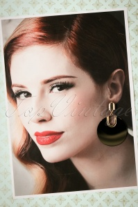 Vixen Retro Disk Earrings 333 10 23049 30102017 014W
