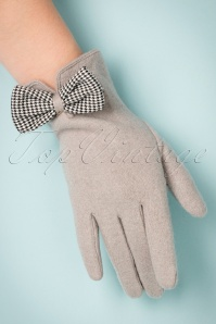 Powder 40s Wool Grey Glove 250 15 22350 31102017 004W