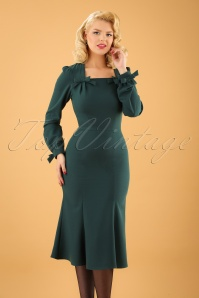 Stop Staring Miclna Dress in Forest Green 100 40 22521 20171031 02W