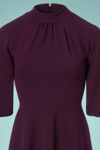 Vintage Chic Bagged Cuff Purple Dress 102 60 22481 20171031 0001V