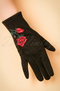 Amici Black Rose Glove 250 10 22336 31102017 005W