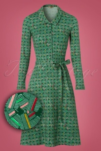 Wow To Go! Kanda Dress in Green 102 49 21609 20171003 0003wv