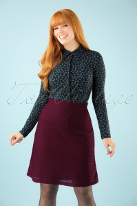 Wow To Go! Gul A Line Skirt in Aubergine 123 60 21613 20171002 1W