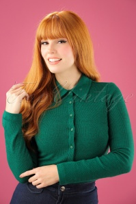 Wow To Go! Pole Blouse in Green 112 40 21615 20171002 02W