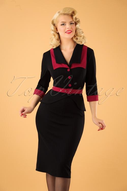 Miss Candyfloss Pencil Dress 100 10 22126 20170912 1W