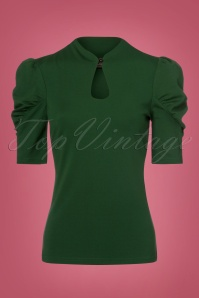 Vixen Dita Top in Green 113 40 22413 20170918 0016w