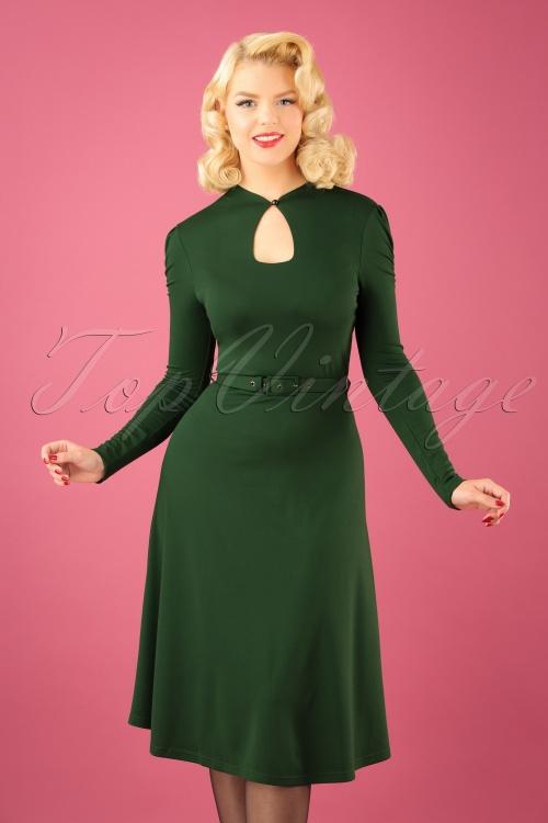 Vixen Dita Keyhole Swing Dress 102 40 22452 20170918 01W