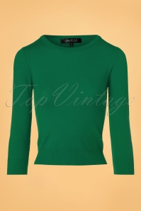 Mak Sweater Uni Sweater in Kelly Green 113 40 23268 20171002 0002w
