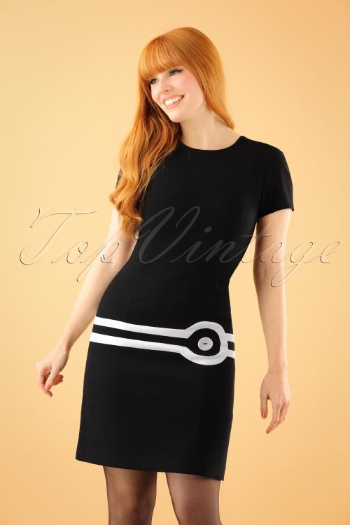 Marmelade Fitted Dress in Black 106 10 22725 20171004 1W