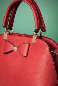 La Parisienne Bow Bag in Red 212 20 23824 20171023 0028