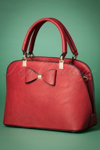 La Parisienne Bow Bag in Red 212 20 23824 20171023 0021w