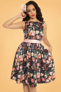 Lindy Bop Audrey Rose Swing Dress 102 14 22916 20171012 02