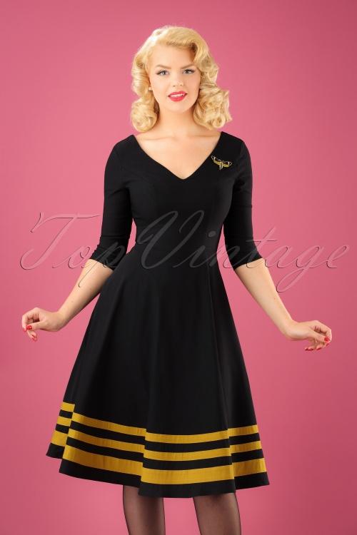 Rebel Love Clothing Flutter Bee Dress 102 10 23152 20170928 01W