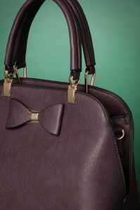 La Parisienne Bow Bag in Mauve 212 60 23825 20171023 0038