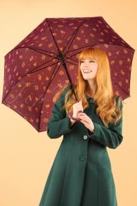So Rainy Floral Purple Umbrella 270 69 23397 28102013 002W