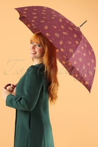 So Rainy Floral Purple Umbrella 270 69 23397 28102013 001W