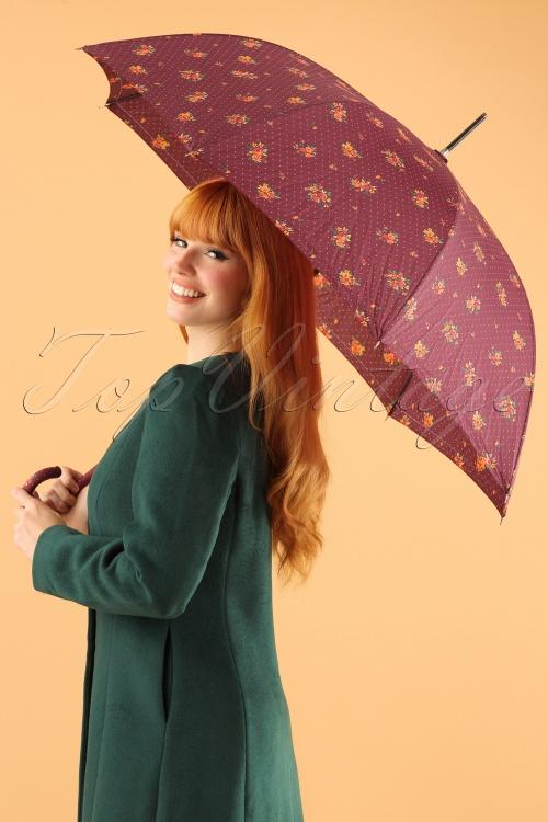 So Rainy Floral Purple Umbrella 270 69 23397 28102013 001W