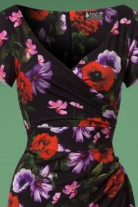 Lady Vintage Elsie Floral Pencil Dress 100 14 23944 20171102 0001V