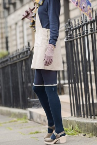 Powder Long Navy Socks 179 31 22432 02