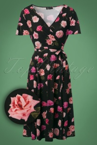 Lady Vintage Lyra Roses Dress 102 14 24016 20171102 0002W1