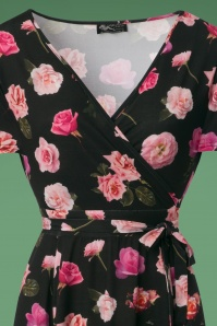 Lady Vintage Lyra Roses Dress 102 14 24016 20171102 0002V1