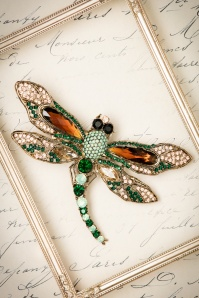 Rosie Fox Imperial Dragonfly Brooch 340 40 23765 01112017 002W