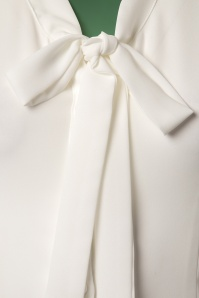 Dancing Days by Banned White Bow Blouse 112 50 23989 20171106 0005W