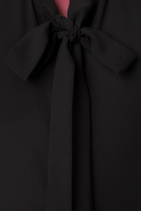 Dancing Days by Banned Black Bow Blouse 112 10 23988 20171106 0006W