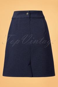 Who's that girl Navy Basic Skirt 123 31 21607 20171107 0006W