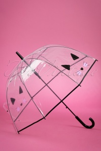 50s Selfie Cat Dome Umbrella